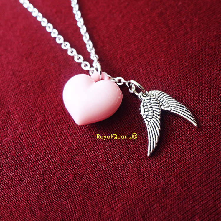 Angel Wings Sliding Necklace