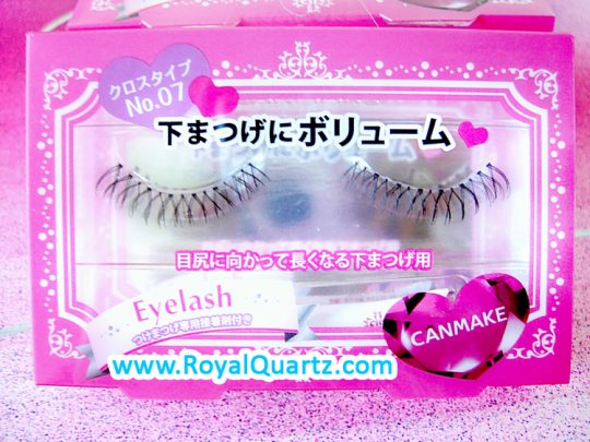 Canmake False Eyelashes - #7