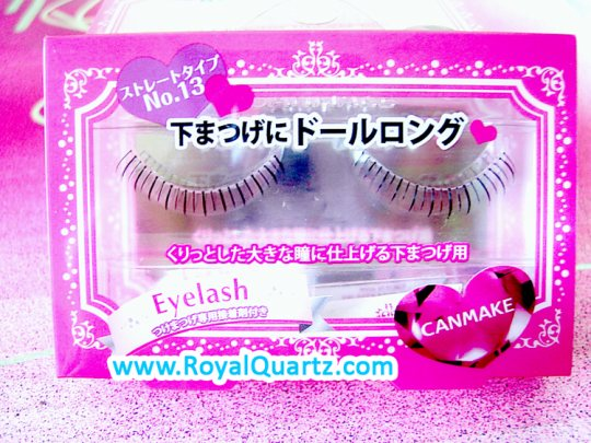 Canmake False Eyelashes - #13 - Click Image to Close