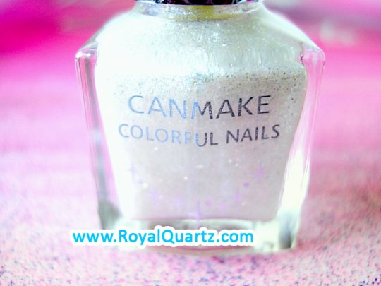 CanMake Colorful Nails - 05 French Glitter - Click Image to Close