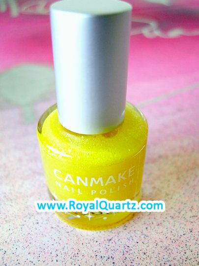 CanMake Nail Polish - 85 Shiny Yellow
