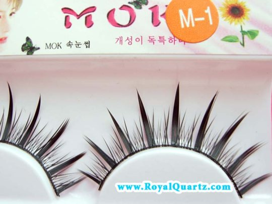 MOK False Eyelashes - #M1