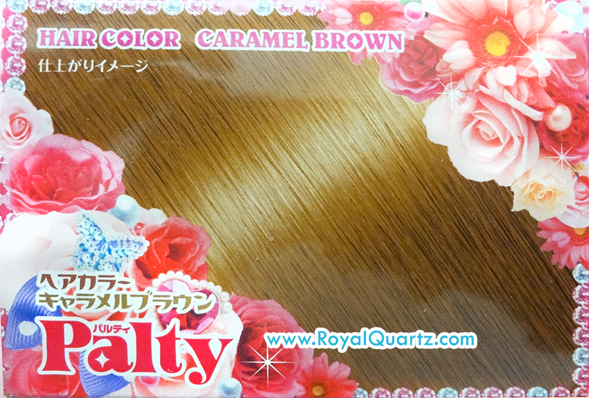 Palty Hair Color - Caramel Brown
