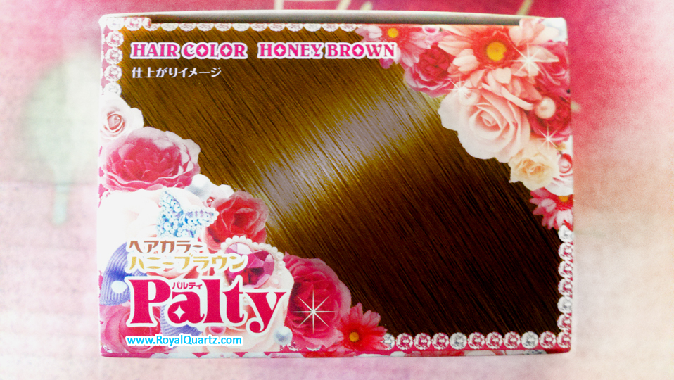 Palty Hair Color - Honey Brown - Click Image to Close