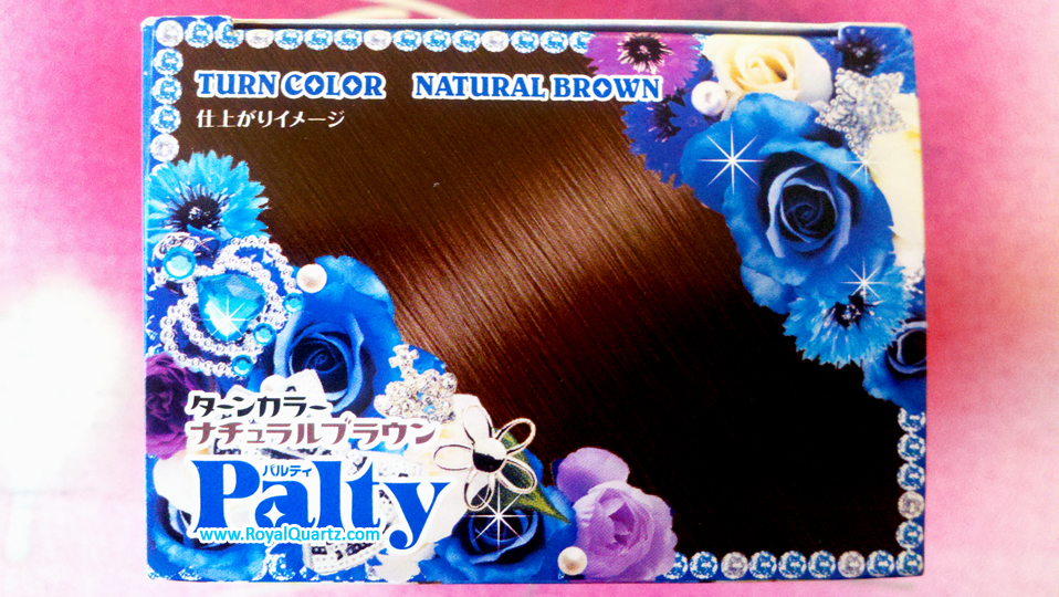 Palty Turn Color - Natural Brown