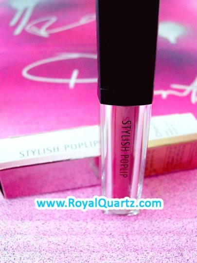 Stylish PopLip Charity Lip Gloss - #5 Pink Smoothie