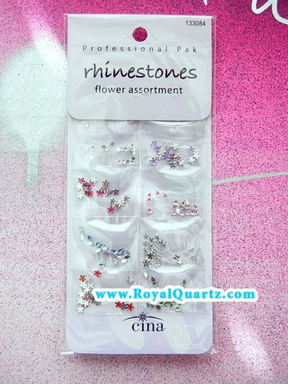 Cina Rhinestone Flower Assortment