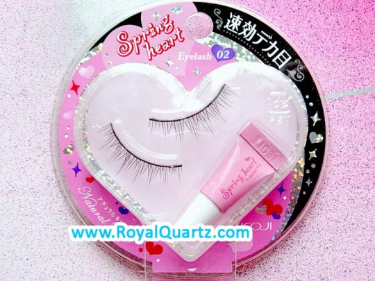 Spring Heart Eyelashes - #2 Natural Cute