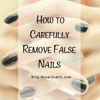 How to Carefully Remove False Nails